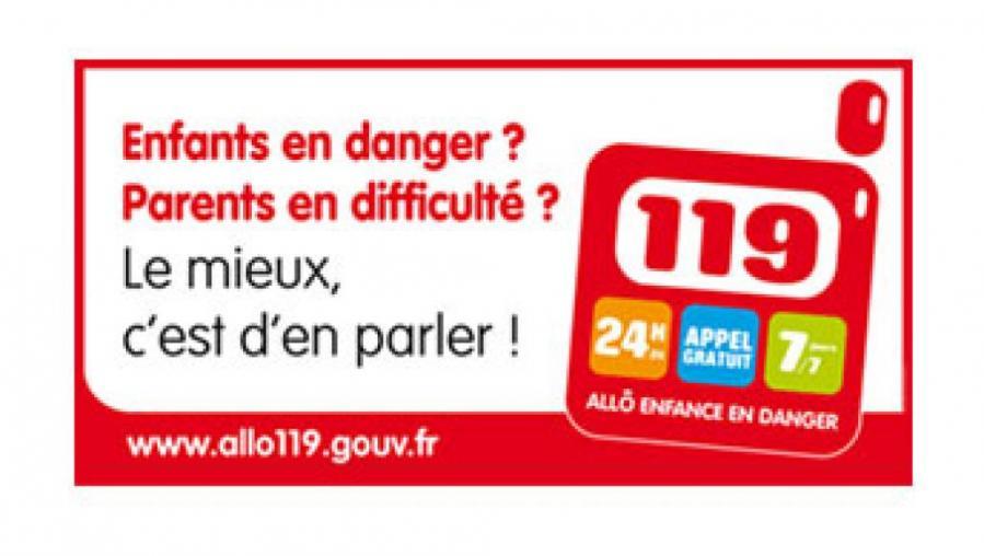 119 sos enfants en danger