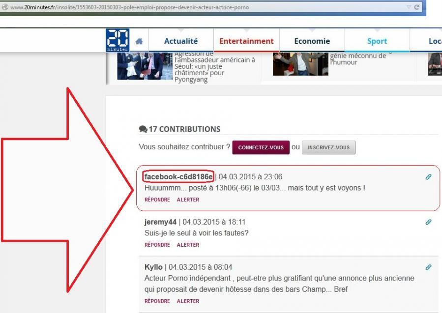 Article 20min mon com y est mais censure fb 050315