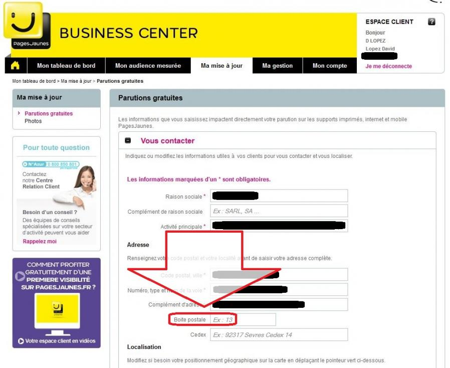 Business center pages jaunes 13