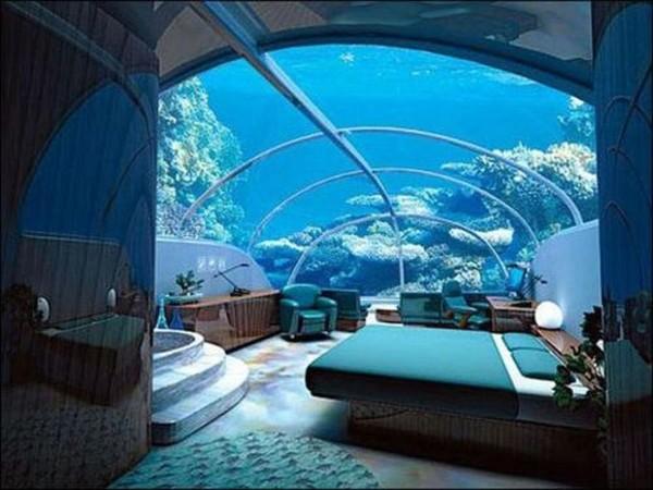 Chambre sous l'eau 2