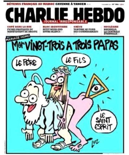 Charlie hebdo oeil pyr par luz
