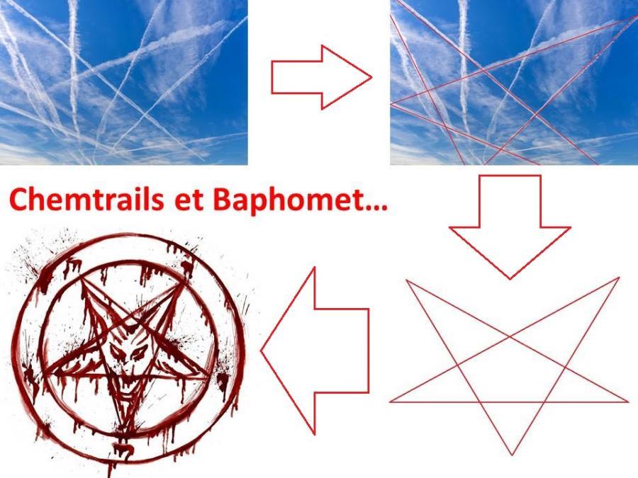 Chemtrails et baphomet