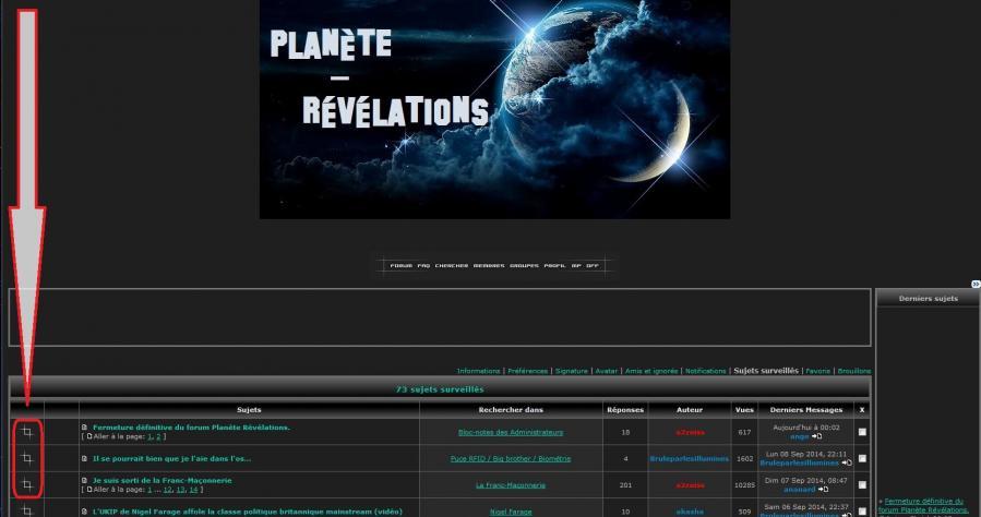 Forum planete revelations signe fm 100914