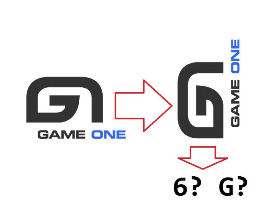 Game one logo 6 ou G