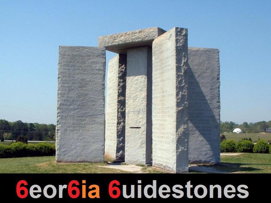 Georgia guidestones 2 666 et mafia 1