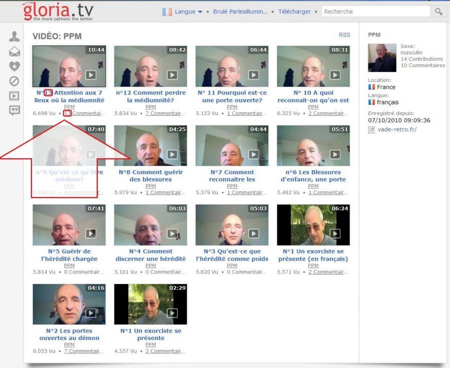 Gloriatv playlist videos exorcisme 13 13