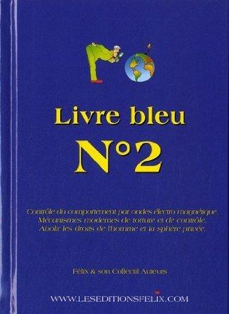 Livre bleu n 2 couverture