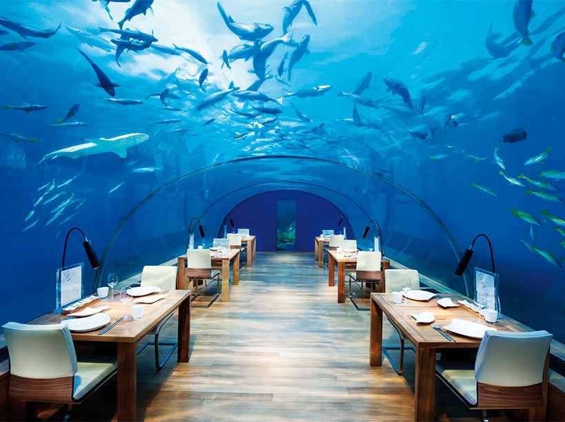 Restau sous marin
