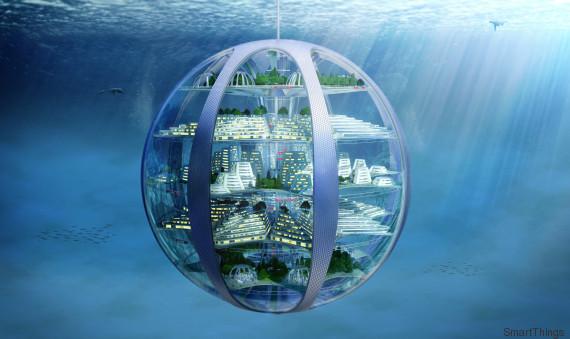 Ville sous marine